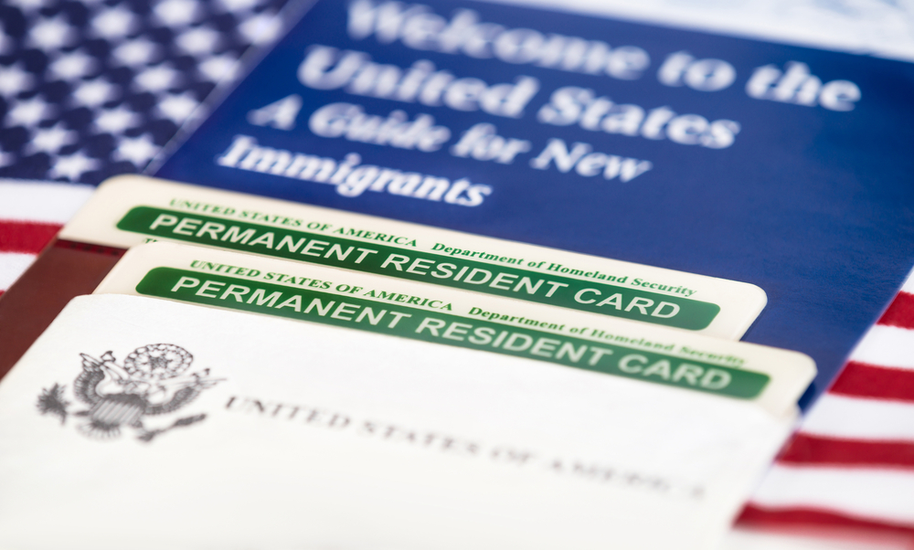 U.S. green card